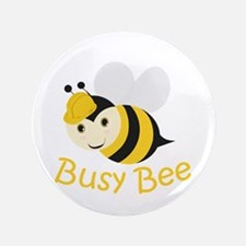 "Busy Bee 3.5"" Button (100 pack)"