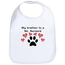 My Brother Is A St. Bernard Bib