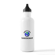 World's Best Gardener Water Bottle
