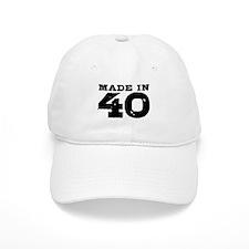 Made In 40 Cap