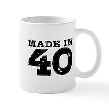 Made In 40 Small Mug