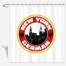 New York German American Shower Curtain