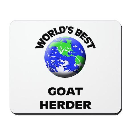 World's Best Goat Herder Mousepad