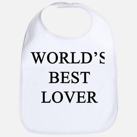 worlds best lover Bib