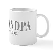 GRANDPA-since-2013-BOD-GRAY Mug