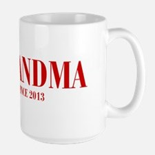 GRANDMA-since-2013-BOD-BURG Mug
