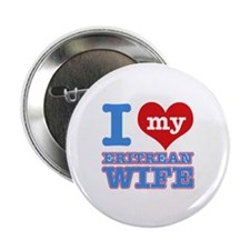 "I love my Eritrean wife 2.25"" Button"