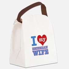 I love my Eritrean wife Canvas Lunch Bag