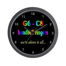 G6-C8 Black Wall Clock