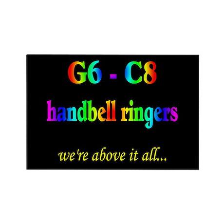 G6-C8 Black Rectangle Magnet (10 pack)
