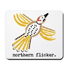 northern flicker. Mousepad