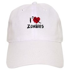I Love Killing Zombies Baseball Cap