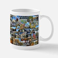Central Park collage Mug