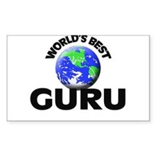 World's Best Guru Decal