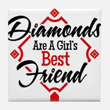 Diamonds BR Tile Coaster