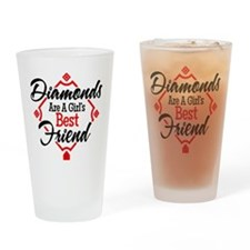 Diamonds BR Drinking Glass