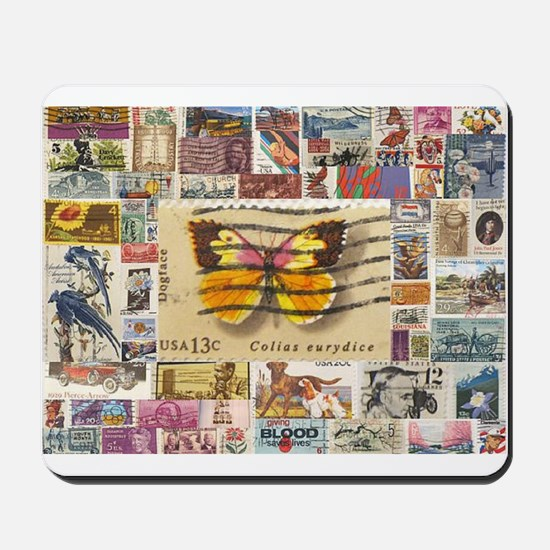 Stamp Collection Mousepad