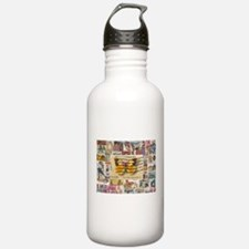 Stamp Collection Water Bottle