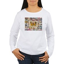 Stamp Collection Long Sleeve T-Shirt