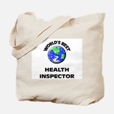 World's Best Health Inspector Tote Bag