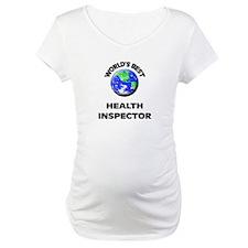 World's Best Health Inspector Shirt
