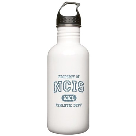 Vintage Property of NCIS Stainless Water Bottle 1.