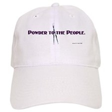 Powder to the People Baseball Cap