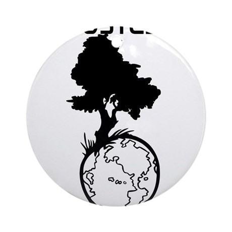 POSTED ON EARTH Ornament (Round)