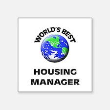 World's Best Housing Manager Sticker
