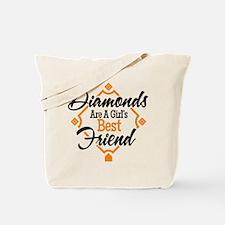 Diamonds BG Tote Bag