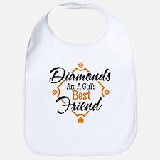 Diamonds BG Bib