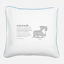 Incorgible Corgi - Canvas Pillow