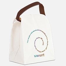 Namaste Canvas Lunch Bag