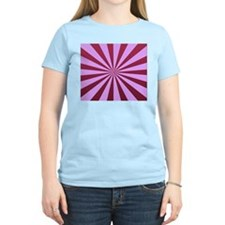 Raspberry and Cherry Starburst T-Shirt
