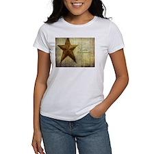 Christmas Barn Star T-Shirt