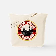 New York German American Tote Bag