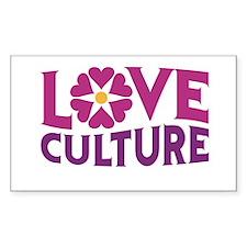 Love Culture Decal