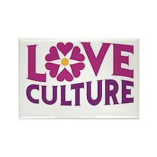 Love Culture Rectangle Magnet