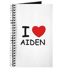 I love Aiden Journal