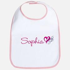 Sophia Name Bib