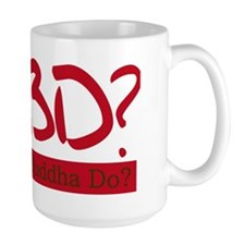 What Would Buddha Do? Red Mug