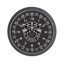 Special Forces Military Wall Clock