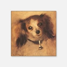 Head of a Dog by Renoir, Vintage Impressionism Sti