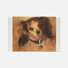 Head of a Dog by Renoir, Vintage Impressionism Rec