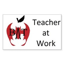 BAT Teacher at Work Decal