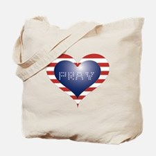 PRAY HEART Tote Bag