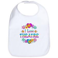 I Love Theatre Bib