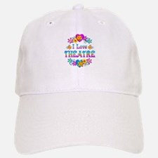 I Love Theatre Baseball Baseball Cap