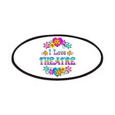 I Love Theatre Patches