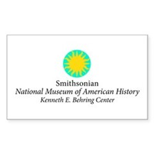 Smithsonian Rectangle Decal
